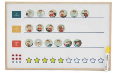 Visualisér nemt hverdagens pligter med pictogram billeder til børn