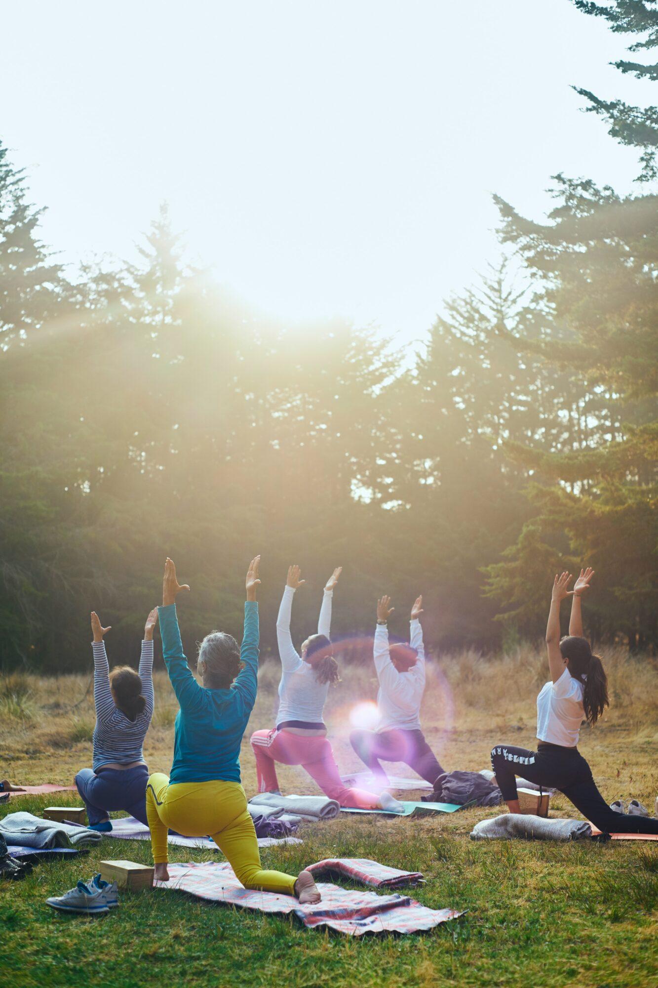 Vær klar til yogatimen med en yoga taske